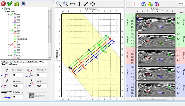 Planner software for VIY3 GPR