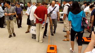 Transient Technologies in Shanghai at the 14th International Conference GPR2012
