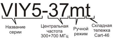 Информация для заказа георадара VIY5-37