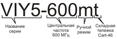 Информация для заказа георадара VIY5-600