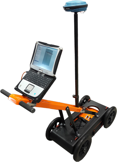 VIY3 GPR handcart