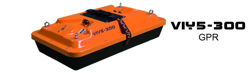 VIY5-300 Ground Penetrating Radar