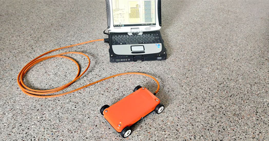 VIY5-1500 ground penetrating radar