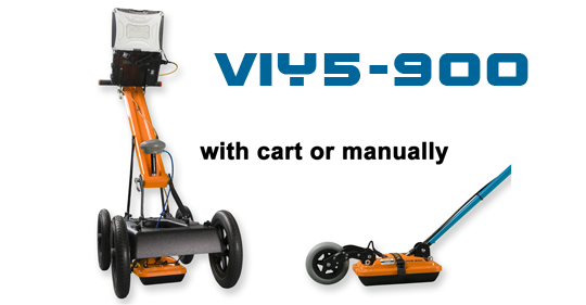 VIY5-900 with cart and in manual mode