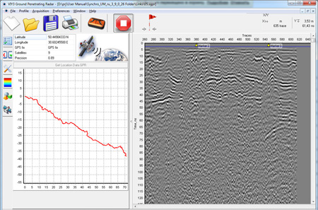 Example of Synchro program using GPS