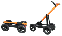 Foldable handcart Cart-46 for transportation of VIY5-900 ground penetrating radar
